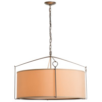 Hubbardton Forge 104255-1011 Bow 4 Light 30 inch Dark Smoke Pendant Ceiling Light Large