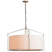 Hubbardton Forge 104255-1020 Bow 4 Light 30 inch Dark Smoke Pendant Ceiling Light Large