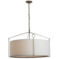 Hubbardton Forge 104255-1038 Bow 4 Light 30 inch Dark Smoke Pendant Ceiling Light Large