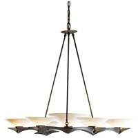 Hubbardton Forge 104325-1025 Moreau 7 Light 4 inch Gold Chandelier Ceiling Light