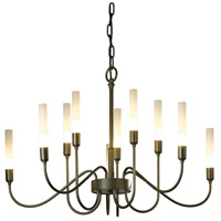 Lisse 10 Light 28 inch Natural Iron Chandelier Ceiling Light