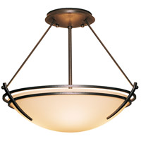 Hubbardton Forge 124422-1010 Presidio Tryne 2 Light 16 inch Natural Iron Semi-Flushmount Ceiling Light