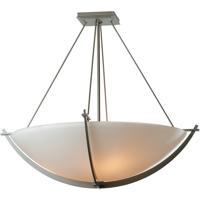 Hubbardton Forge 124560-1006 Compass 3 Light 27 inch Burnished Steel Semi-Flushmount Ceiling Light Large