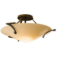 Hubbardton Forge 124710-1003 Antasia 1 Light 22 inch Bronze Semi-Flushmount Ceiling Light