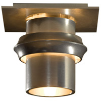 Hubbardton Forge 124910-1000 Twilight 1 Light 6 inch Vintage Platinum Flush Mount Ceiling Light