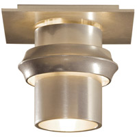 Hubbardton Forge 124910-1001 Twilight 1 Light 6 inch Soft Gold Flush Mount Ceiling Light