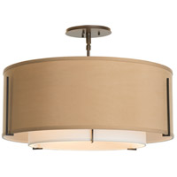 Hubbardton Forge 126503-2100 Exos 3 Light 23 inch Black Semi-Flush Mount Ceiling Light alternative photo thumbnail