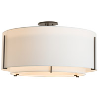 Hubbardton Forge 126505-1542 Exos 3 Light 29 inch Vintage Platinum Semi-Flush Mount Ceiling Light, Large 126505-SKT-07-SF2290-SF2899_4.jpg thumb