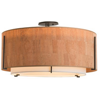 Hubbardton Forge 126505-1542 Exos 3 Light 29 inch Vintage Platinum Semi-Flush Mount Ceiling Light, Large 126505-SKT-07-SF2290-SG2899_5.jpg thumb