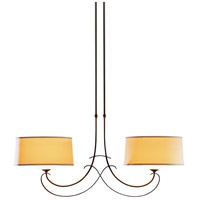 Hubbardton Forge 131234-1015 Almost Infinity 2 Light 15 inch Bronze Pendant Ceiling Light Large