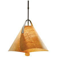 Hubbardton Forge 134501-1011 Mobius 1 Light 18 inch Bronze Pendant Ceiling Light Small
