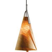 Hubbardton Forge 134505-1020 Mobius 1 Light 14 inch Dark Smoke Pendant Ceiling Light Tall