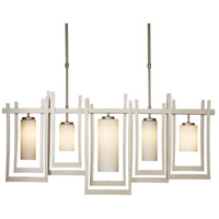 Hubbardton Forge 134530-1007 Chime 5 Light 4 inch Soft Gold Pendant Ceiling Light