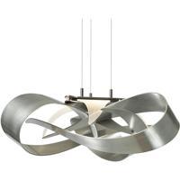 Hubbardton Forge 136520-1001 Flux LED 27 inch Vintage Platinum Pendant Ceiling Light