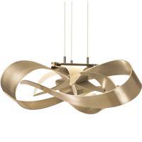 Hubbardton Forge 136520-1002 Flux LED 27 inch Soft Gold Pendant Ceiling Light