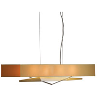 Hubbardton Forge 137620-1020 Facet 4 Light 6 inch Black Pendant Ceiling Light thumb