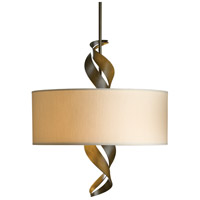 Hubbardton Forge 137685-1165 Folio 3 Light 22 inch Soft Gold Pendant Ceiling Light, Drum Shade alternative photo thumbnail