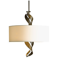 Hubbardton Forge 137685-1165 Folio 3 Light 22 inch Soft Gold Pendant Ceiling Light, Drum Shade photo thumbnail