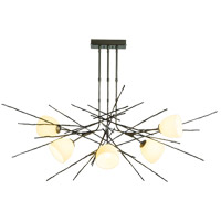 Hubbardton Forge 137750-1082 Griffin 6 Light 38 inch Dark Smoke Pendant Ceiling Light photo thumbnail