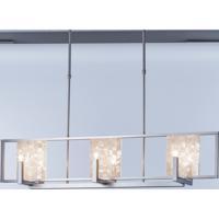 Hubbardton Forge 137850-1006 Tesserae 6 Light 12 inch Vintage Platinum Pendant Ceiling Light