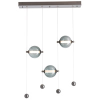 Hubbardton Forge 139053-1007 Abacus LED 6 inch Burnished Steel Pendant Ceiling Light