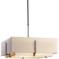 Hubbardton Forge 139635-1199 Exos 4 Light 25 inch Dark Smoke Pendant Ceiling Light Square Large