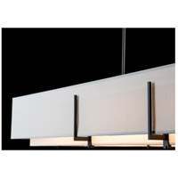 Hubbardton Forge 139640-1866 Exos 4 Light 15 inch Dark Smoke Pendant Ceiling Light, Rectangular 139640-SKT-STND-10-SF4602-SJ4207_7.jpg thumb
