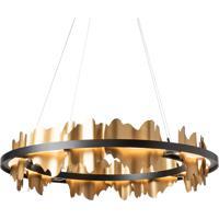 Hubbardton Forge 139653-1042 Hildene LED 38 inch Black/Gold Pendant Ceiling Light