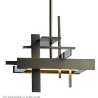 Hubbardton Forge 139718-1007 Planar LED 11 inch Dark Smoke Pendant Ceiling Light Small