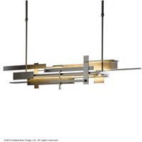 Hubbardton Forge 139720-1007 Planar LED 9 inch Dark Smoke Pendant Ceiling Light Large