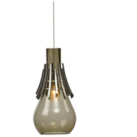 Hubbardton Forge 161160-1000 Colette 1 Light 6 inch Vintage Platinum Mini Pendant Ceiling Light