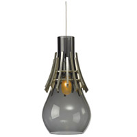 Hubbardton Forge 161160-1001 Colette 1 Light 6 inch Vintage Platinum Mini Pendant Ceiling Light