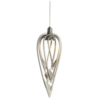Hubbardton Forge 161170-1006 Amulet 1 Light 6 inch Vintage Platinum Mini Pendant Ceiling Light