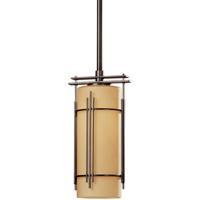 Hubbardton Forge 183550-1049 Paralline 1 Light 5 inch Dark Smoke Mini Pendant Ceiling Light