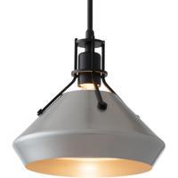 Hubbardton Forge 184251-1138 Henry 1 Light 10 inch Black/Vintage Platinum Mini Pendant Ceiling Light