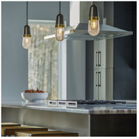 Hubbardton Forge 187000-1003 Fizz 1 Light 4 inch Bronze with Brass Accent Mini Pendant Ceiling Light 187000-SKT-STND-07-BR-YG0512_3.jpg thumb