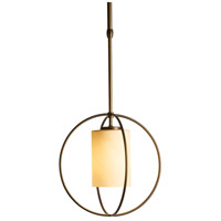 Hubbardton Forge 187440-1070 Rhythm 1 Light 11 inch Dark Smoke Mini Pendant Ceiling Light