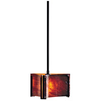 Hubbardton Forge 188100-1050 Exos Delta 1 Light 8 inch Dark Smoke Mini Pendant Ceiling Light