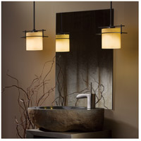Hubbardton Forge 188200-1070 Arc Ellipse 1 Light 4 inch Burnished Steel Mini Pendant Ceiling Light