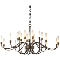 Lisse 20 Light 43 inch Natural Iron Chandelier Ceiling Light