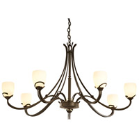 Hubbardton Forge 194347-1003 Aubrey 7 Light 47 inch Bronze Chandelier Ceiling Light