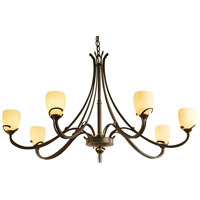 Hubbardton Forge 194347-1004 Aubrey 7 Light 47 inch Bronze Chandelier Ceiling Light