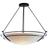 Hubbardton Forge 194430-1000 Presidio Tryne 3 Light 35 inch Mahogany Pendant Ceiling Light Large