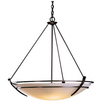 Hubbardton Forge 194431-1000 Presidio Tryne 3 Light 35 inch Mahogany Pendant Ceiling Light Large