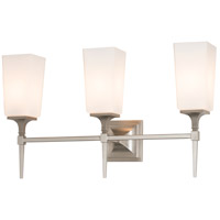 Hubbardton Forge 202115-1001 Bunker Hill 3 Light Brushed Nickel Sconce Wall Light