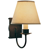 Hubbardton Forge 203101-1000 Traditional 1 Light 8 inch Mahogany Sconce Wall Light
