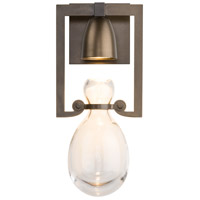 Hubbardton Forge 203300-1002 Apothecary 1 Light 6 inch Dark Smoke Sconce Wall Light