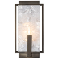Hubbardton Forge 203315-1002 Tesserae 1 Light 7 inch Dark Smoke ADA Sconce Wall Light