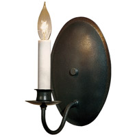 Hubbardton Forge 204210-1005 Simple Lines 1 Light 6 inch Natural Iron Sconce Wall Light
