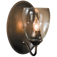 Hubbardton Forge 204213-1002 Simple Lines 1 Light 6 inch Dark Smoke Sconce Wall Light